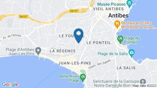 Hotel & Studios ASTOR Map