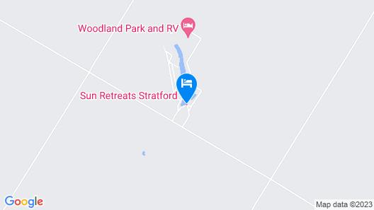 Woodland Lake RV Resort Map