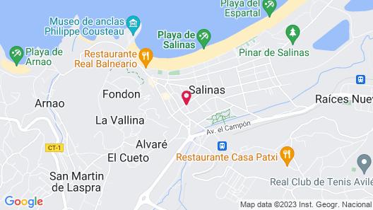 Las Dunas Hostel Map