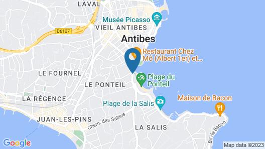 Royal Antibes - Luxury Hotel, Residence, Beach & SPA Map