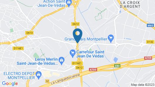 Vacancéole – Le Terral – Montpellier Sud Map