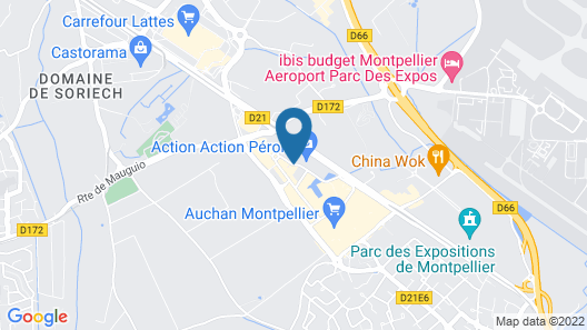 Eurotel Map