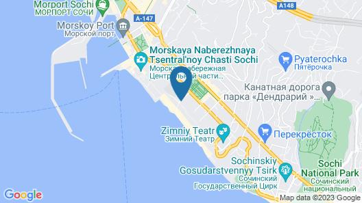 City Park Hotel Sochi Map