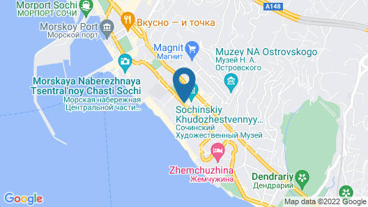 Hyatt Regency Sochi Map