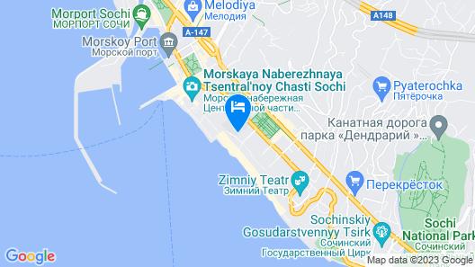 Brevis Apart-hotel Map