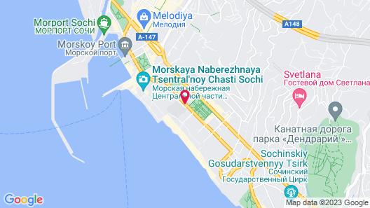 Mercure Sochi Centre Map