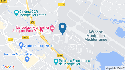 Aéroport Hôtel Map