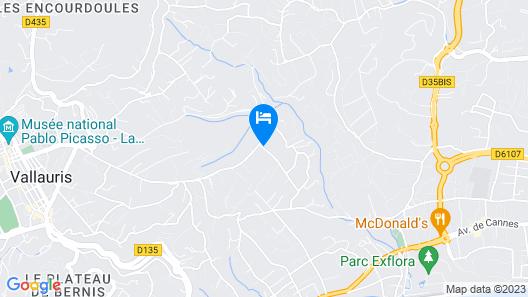 Chambres d'hotes La Bigarade Map