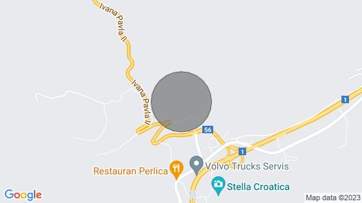 Villa Manda Korina Map
