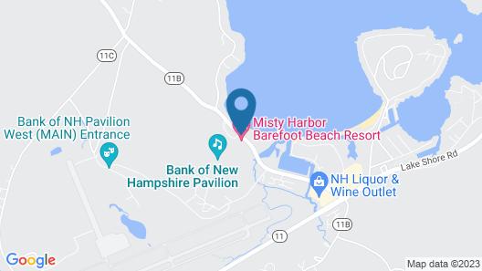 Misty Harbor Barefoot Beach Resort Map