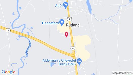 Holiday Inn Rutland-Killington Area Map