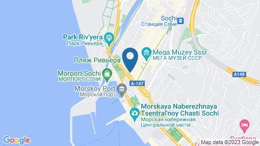 Sochi Magnolia Hotel Map