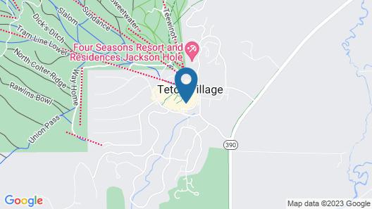 Teton Village Condos Collection by JHRL Map
