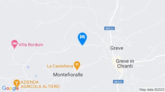 Borgo Del Cabreo Map