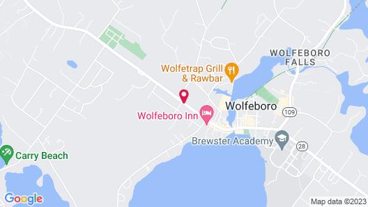 The Wolfeboro Inn Map