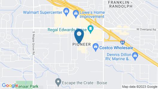 Homewood Suites by Hilton Boise Map