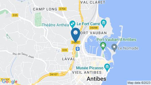 Hôtel le Collier Map