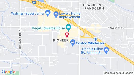 Hilton Garden Inn Boise Spectrum Map