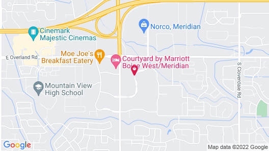 Candlewood Suites Boise-Meridian Map