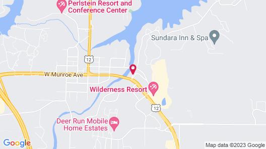 Log Gables - Lake Front Map