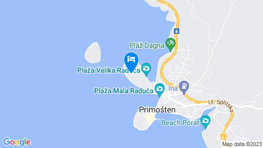 Hotel Zora Map
