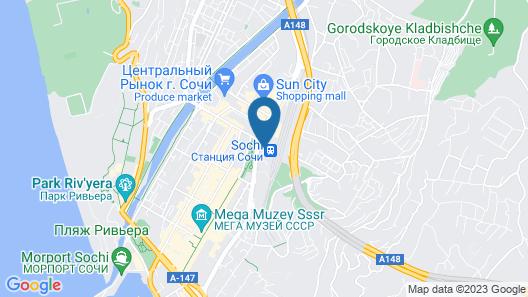 Park Inn by Radisson Sochi City Centre Map