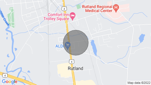 Rutland Retreat - Near Many Attractions and Activities Map