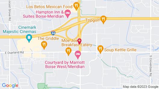 Tru by Hilton Meridian Boise West ID Map