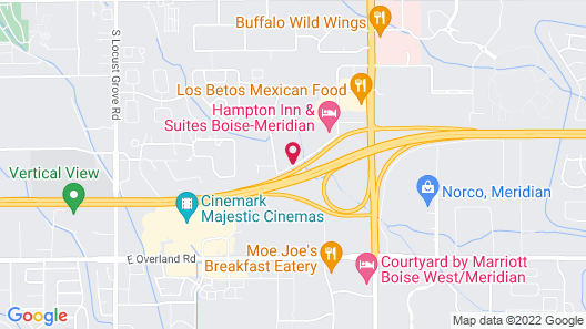 Holiday Inn Express Hotel & Suites Boise West - Meridian, an IHG Hotel Map
