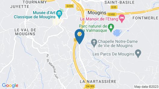 Moulin De Mougins Map