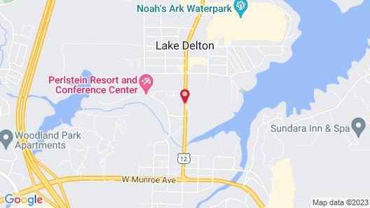 Fairfield Inn & Suites Wisconsin Dells Map