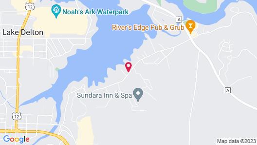 Baker's Sunset Bay Resort Map