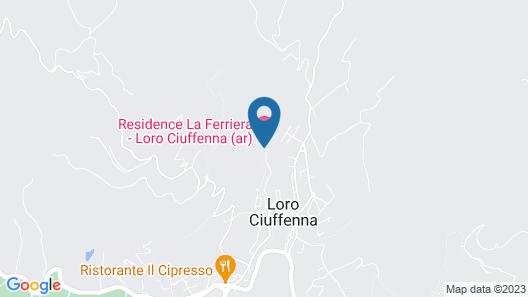 La Ferriera Residence Map
