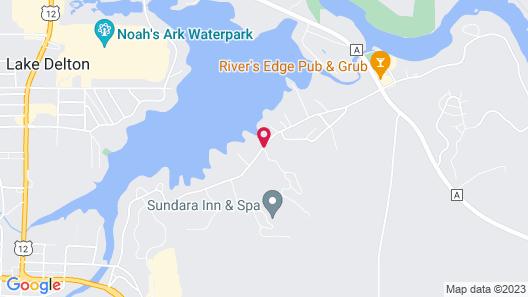 Caribbean Club Resort Map