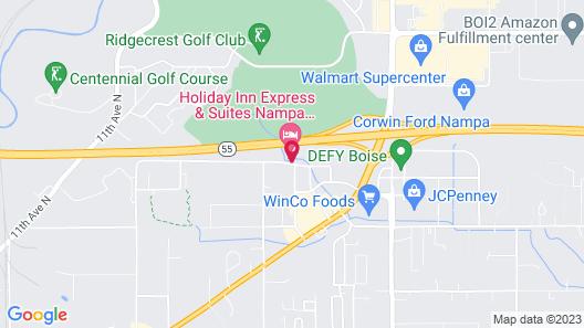 Holiday Inn Express & Suites Nampa - Idaho Center Map