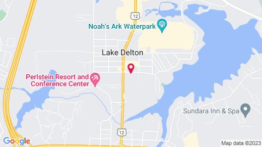 Hilton Garden Inn Wisconsin Dells Map