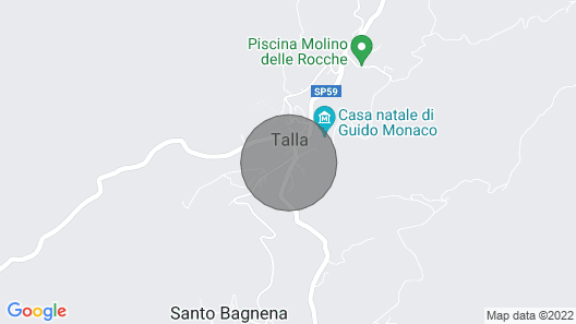 Fantastic villa with private swimming pool and tennis court in Tuscany Map