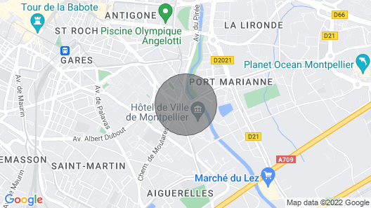 Appartement Pour 4 Cosy et Abordable Dans le Centre-ville ! Map