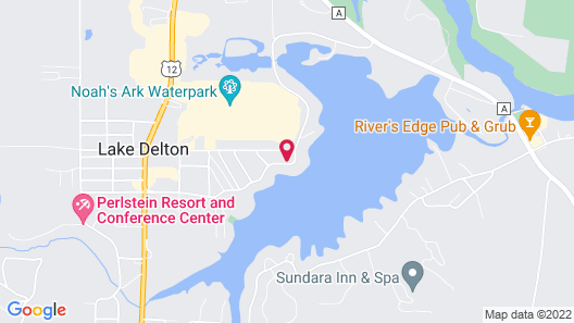 Delton Grand Resort and Spa Map