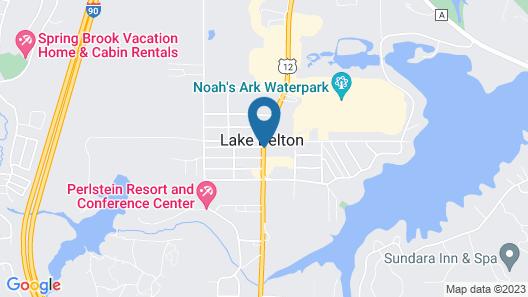 Flamingo Motel & Suites Map