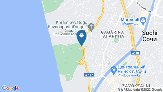 RODINA Grand Hotel And Spa Map