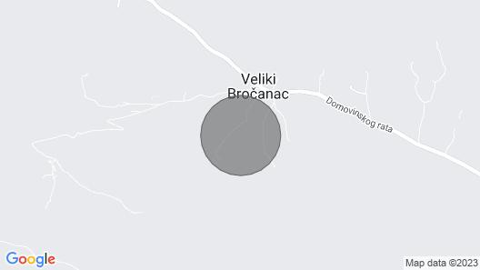 6 Bedroom Accommodation in Veliki Brocanac Map