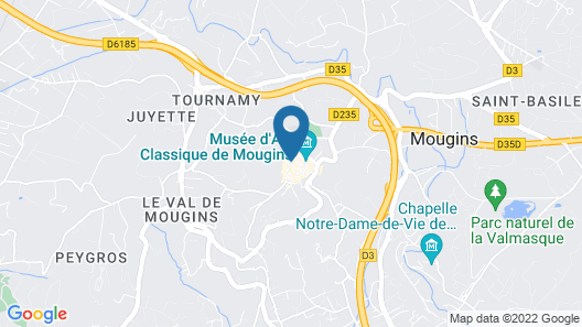 Mougins Luxury Retreats Map