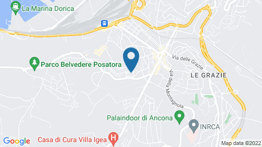 Affittacamere Sirolo Map