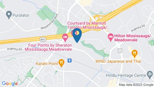 Residence Inn by Marriott Toronto Mississauga/Meadowvale Map