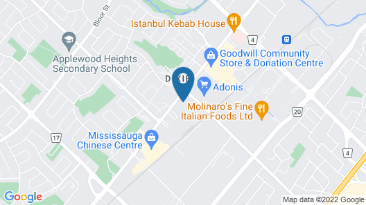 Avenue Motel Map