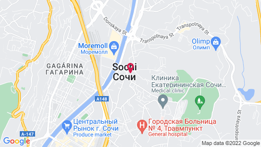 Marianna Hotel Map