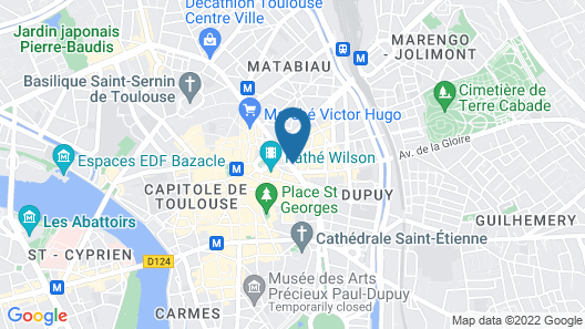 Mama Shelter Toulouse Map