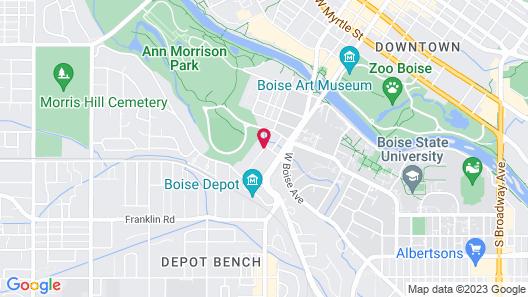 Residence Inn by Marriott Boise Downtown/University Map