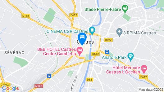 Hôtel de l'Europe Map